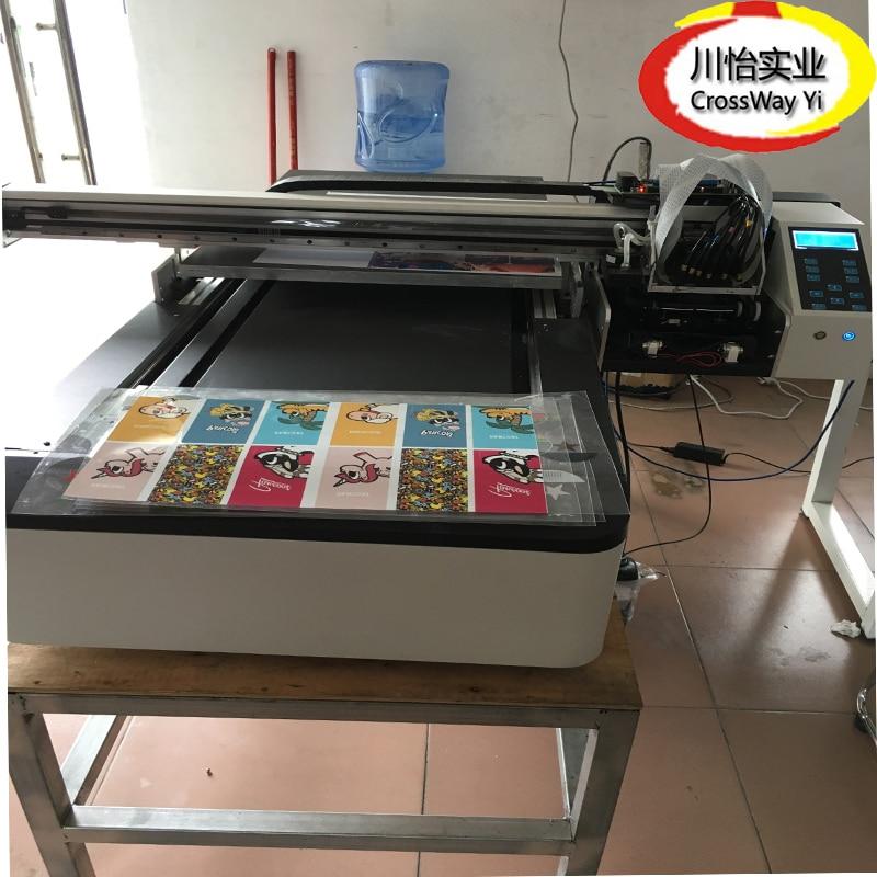 6090 High Quality Two DX5 DX7 XP600 Head Flatbed UV Printer