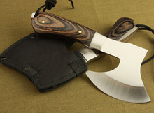 TRSKT F702 Tactical Axe Rescue Outdoor Hunting Camping Survival Machete