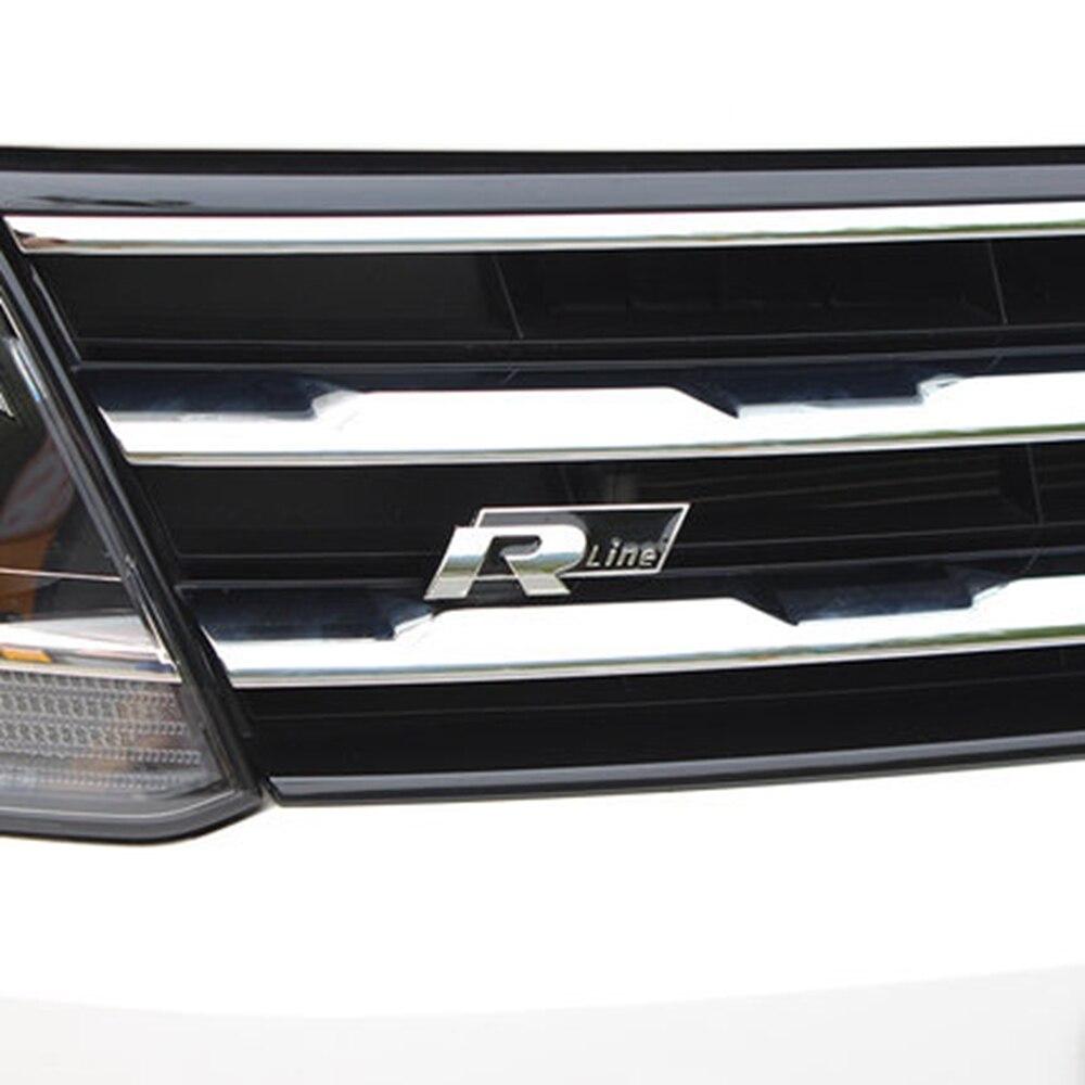 Vrs Car Styling Wheel Center Hub Cap Badge Side Fender 3d Logo Rear Trunk Sticker Front Hood Grille Emblem Auto Accessories Car Stickers