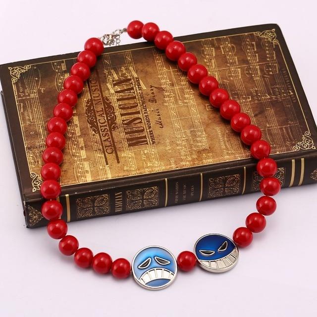 One Piece Beads Necklace Cosplay Jewelry