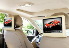 newest 9 Inch Car Headrest Monitor With 800×480 Screen Built-in Speaker Support USB SD DVD Player,car styling