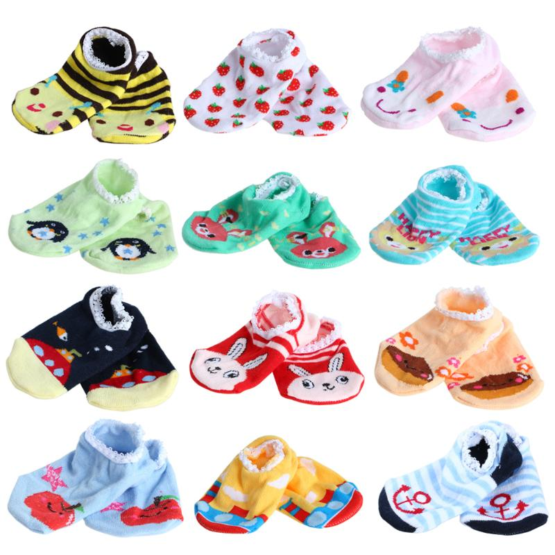 Cotton Cute Baby Boy Girl Socks Fashion Cartoon Soft Floor Baby Sock Newborn Infant Sock Spring Summer Autumn hockey sock