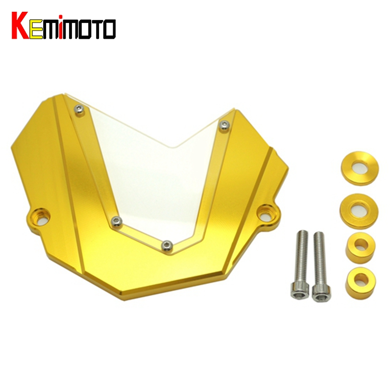KEMiMOTO MT 09 MT09 FZ-09 Front Chain Sprocket Cover For Yamaha MT-09 FZ 09 2013 2014 2015 2016 MT 09 Tracer Accessories bjmoto for yamaha mt07 2013 2014 2015 2016 fz07 2015 2016 red cnc front sprocket guard chain cover left side engine