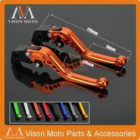 CNC Short Pivot Brake Clutch Levers For KTM 690 Duke SMC SMCR Enduro R 2014 2015