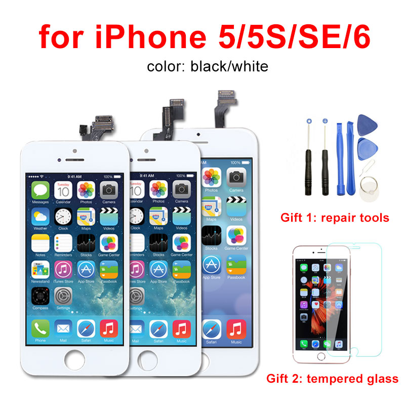 AAA Display For iPhone 5 5S 5C SE 6 LCD Screen Digitizer Assembly No Dead Pixel for iPhone 6 LCDAAA Display For iPhone 5 5S 5C SE 6 LCD Screen Digitizer Assembly No Dead Pixel for iPhone 6 LCD