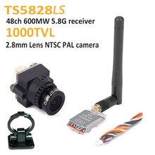 FPV Mini Digital Video Camera 1000TVL 1000 TVL Line 2.8mm lens and TS5828LS Micr