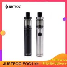Newest JUSTFOG FOG1 Kit Limited edition 1500mAh built in battery all in one vape pen kit 2ML for both starters and veterans fog1