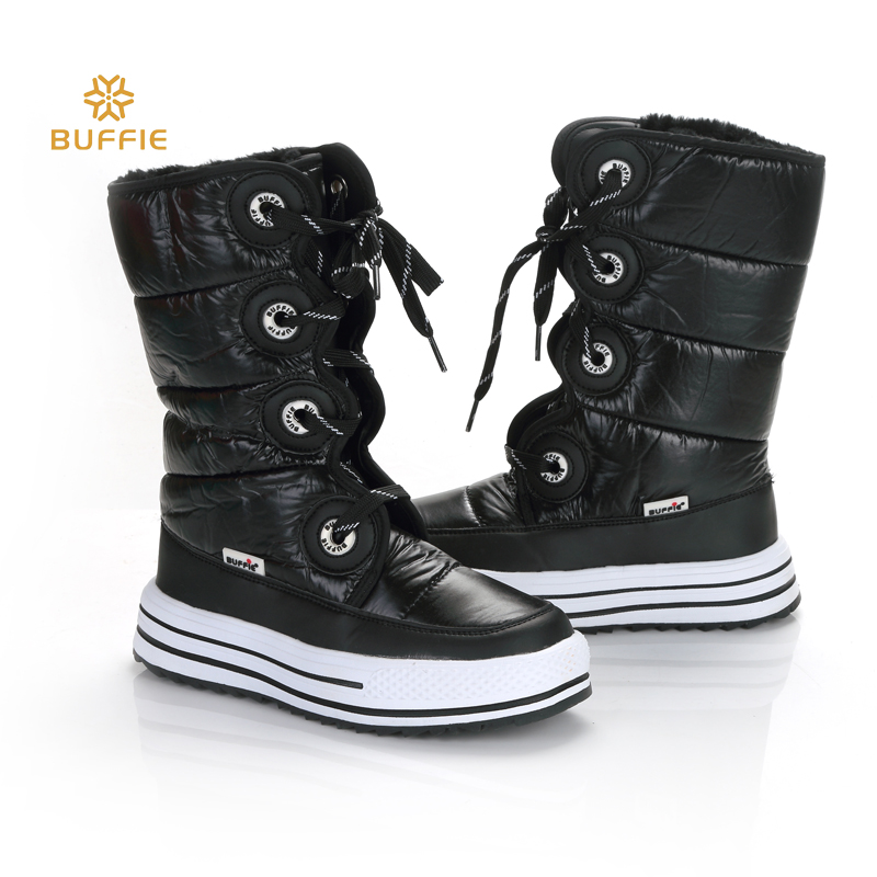 2018 New Black style Boots Women winter Boots Warm Snow boots High quality Fashion nice shape easy wearing Boots thick fur free snow boots free delivery of autumn and winter high quality 100
