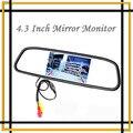"""Caliente alta resolución de 4.3 """" Color TFT LCD de coches retrovisor espejo de vídeo Display Monitor del sistema de asistencia envío gratis"""