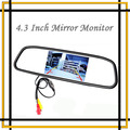 """Hot High resolution 4.3"""" Color TFT LCD Car Rearview Video Mirror Monitor Display Parking system assistance Free Shipping"""