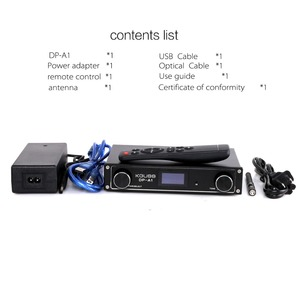Image 5 - KGUSS DP A1 Digital Bluetooth 4.2 CSR64215 Amplifier USB/Optical/Coaxial/AUX Input TAS5352A 24Bit/192KHz 120w*2