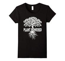 """Plant Powered"" Vegan women shirt"