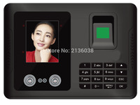Biometric face recognition time attendance silver COLOR FINGERPRINT TIME RECORDER OFFICE EQUIPMENT TIME ATTENDANCE SYSTEM