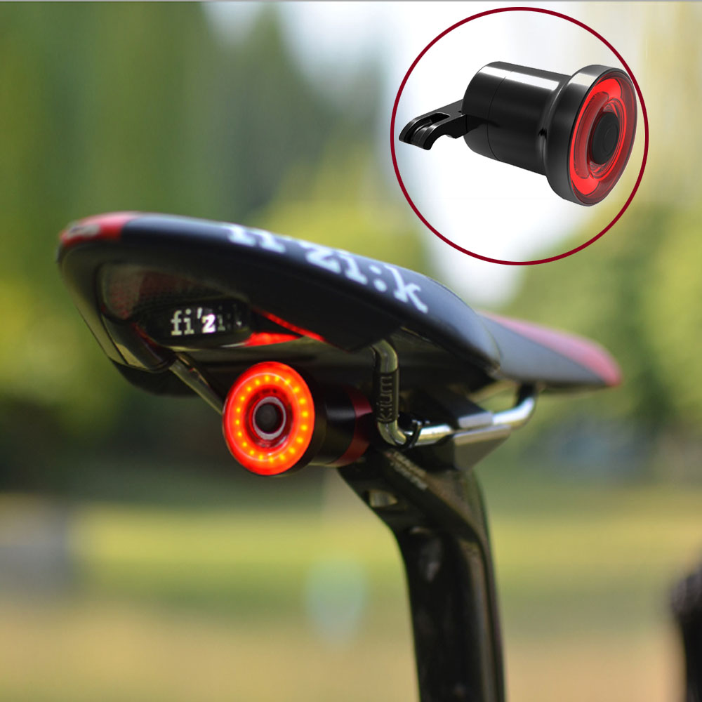 XLite 100 Bicycle Taillight Smart Auto Start/stop Brake Sensing IPX6 Waterproof Bike Rear Light Usb Charging Led Cycling Lamp