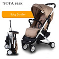 2016 Nova yoyaplus Portátil Dobrável Guarda-chuva Carrinho de Bebê Carrinho de criança do Pram kinderwagen poussette Acessórios de Viagem Leve