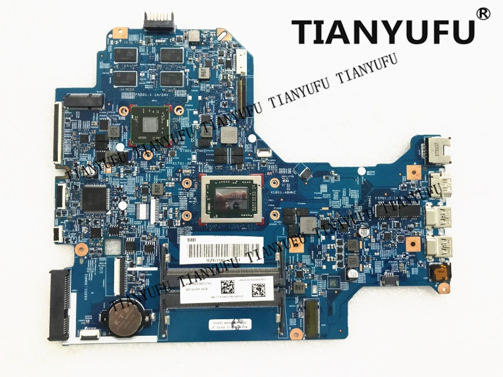 926196 601 926196 001 448.0CA03.0011 mainboard For HP 17 AK 17Z AK 17 AK061NR Laptop Motherboard 530 4GB A12 9720P tested 100%-in Motherboards from Computer & Office    1