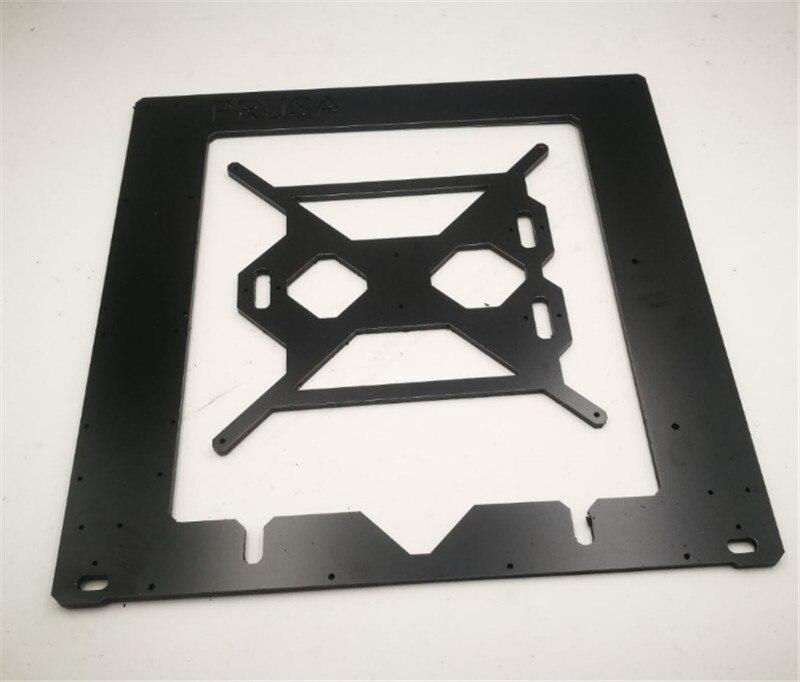 Funssor 3D Printer Reprap Mendel Prusa i3 Aluminium composit Melamine single Frame 6mm CNC black Melamine