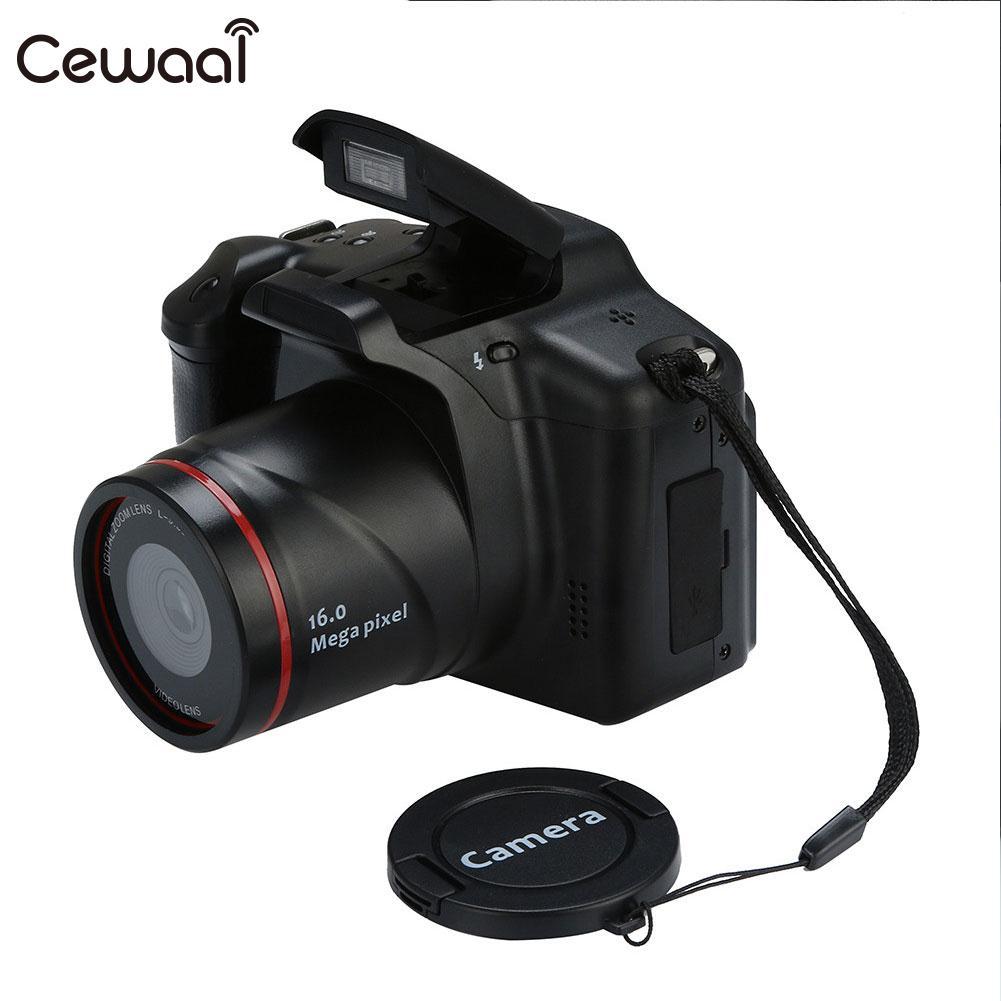Cewaal Flash Lamp Plastic Shooting Video Camera Wedding Record Digital Camcorder Convenient DVR DV Camcorder Handheld