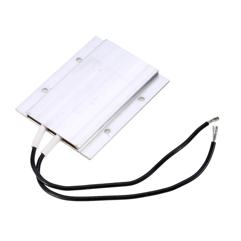 1PCS PTC Thermostat Aluminum Heating Element Heater Plate 60W AC/DC 12V 180 Degree Incubator Dehumidification Mayitr 1pcs 60w ac dc 12v 180 degree ptc thermostat aluminum heater plate heating element incubator dehumidification mayitr