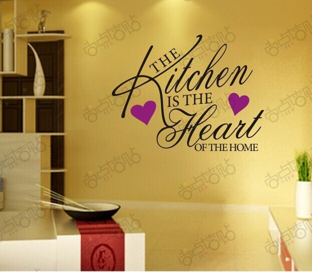 The Kitchen is Wall Art Decal Home Decor Famous & Inspirational ...