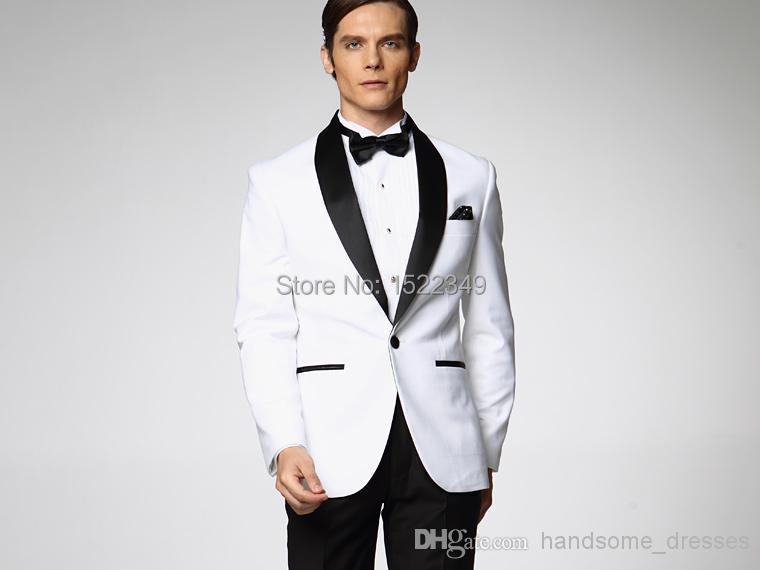 2015 2015 costumes de mariage pour hommes sur mesure de smokings marié  nouveau Design sur mesure noir Groom Tuxedos meilleur mariage homme costume  Gro dans