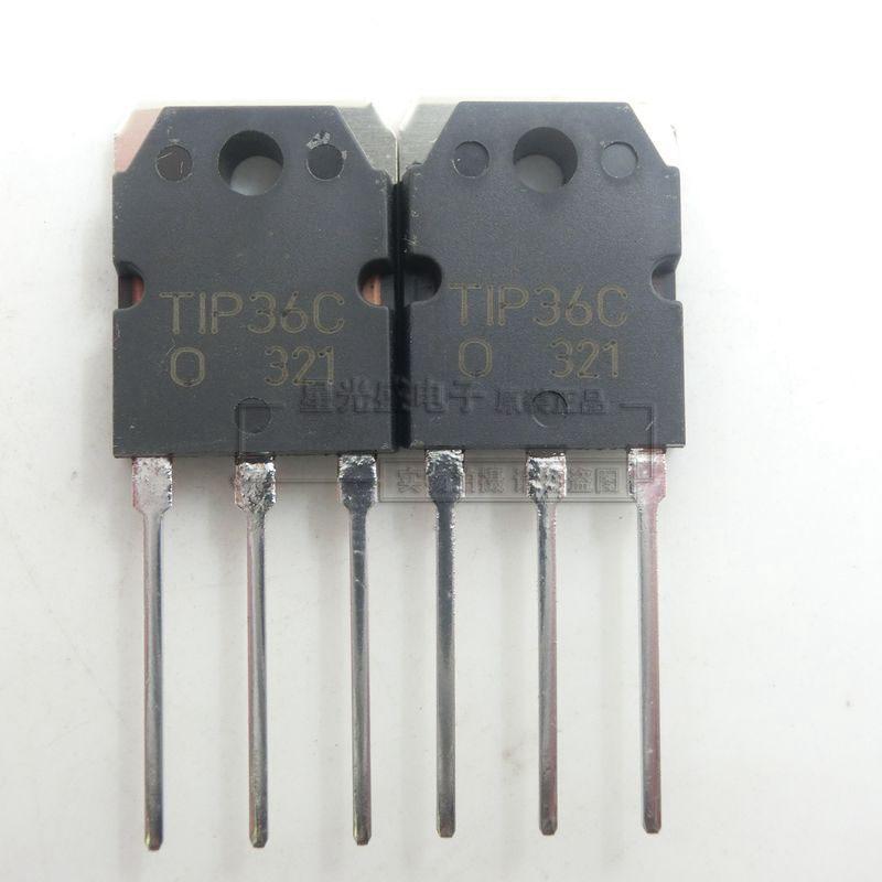 1pcs/lot TIP36 TIP36C TIP36CW TO-3p Darlington New Original