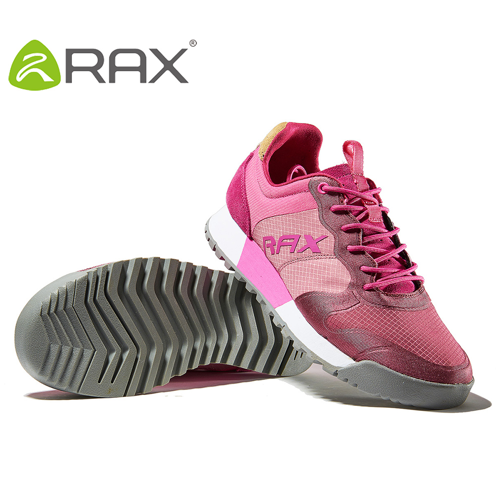 RAX Women Breathable Mesh Anto-slip Running Shoes Cushioning Durable Sneaker for Women Antiskid Walking Jogging Shoes Spring