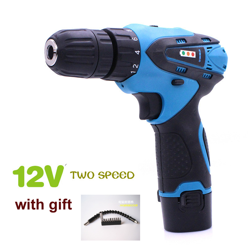 12/16.8/21V Two Speed Rechargeable Cordless Driver Electric Hand Drill Bit Electrical Screwdriver Power Tool Part Set pegasi snake drill bit extender extends reach up to 12 inches with ratchet tool circular screw driver heads for electrical diy
