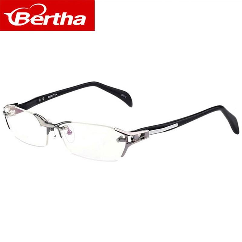 Bertha Klaren Rahmen Gläser Männer Titan Business Gläser Brillen ...