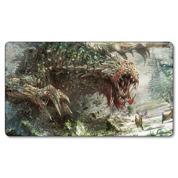 (Tarmogoyf playmat) proxy Cards Playmat,Magical Card Games Gather Play Mat, Lands Cards sexy Playmats