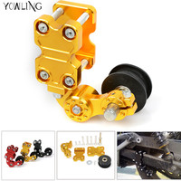 Motorcycle Chain Adjuster Blocks chain adjuster tensioner for Kawasaki W800 ZZR1200 ZRX1100 1200 ZZR1100 ZXR100 GTR1400 VN1600