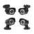 Anran 1080n 4ch cctv sistema dvr hdmi 4 pcs 720 p 1800tvl IR Câmera Ao Ar Livre Home Security Sistema de Vigilância Kits AHD E-mail alerta