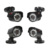 Anran 1080n 4ch sistema de cctv dvr hdmi 4 unids 720 p 1800tvl IR Cámara Al Aire Libre Home Seguridad Sistema de Vigilancia Kits AHD Email alerta
