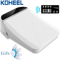 FOHEEL smart washlet toilet seat cover toilet bowls for toilets seat heating clean electronic bidet cover dry smart toilet lid