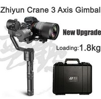 JMT 2017 NEWEST Zhiyun Crane V2 3-axis Handheld Stabilizer Gimbal for DSLR Canon Sony Camera Support 1.8KG w/ Suitcase Battery