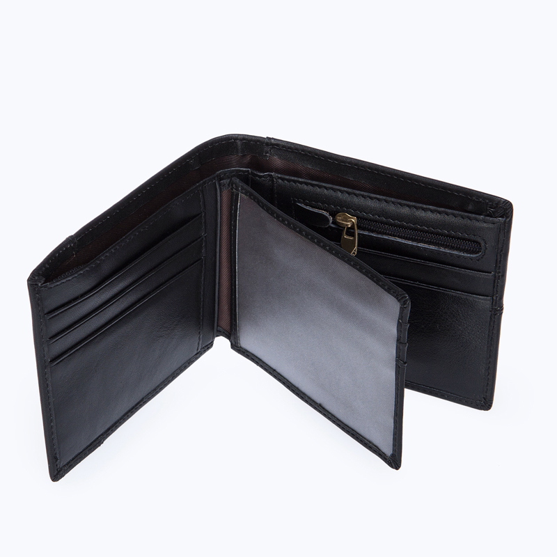 WESTAL plånbok manlig äkta läder kort plånbok män Vintage Cow - Plånböcker - Foto 5