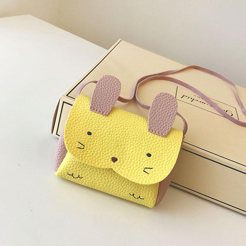 Geldbörsen & Brieftaschen Cartoon Nette Kinder Kaninchen Ohr Münze Tasche Pu Leder Baby Mädchen Mini Münze Brieftasche Messenger Bag Schöne Mädchen Geschenk