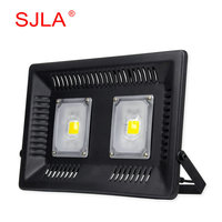 SJLA Warranty 3 Years Waterproof IP67 Foco Outdoor Garden Spotlight Wall Refletor Lamp 110V 220V 50W
