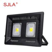 SJLA Warranty 3 Years Waterproof IP67 Foco Outdoor Garden Spotlight Wall Refletor Lamp 110V 220V 50W