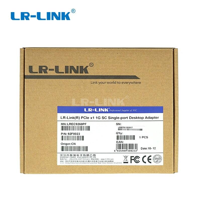 Image 5 - LR LINK 9260PF Gigabit Ethernet Network Card 1000base lx PCI Express Fiber Optical Lan Card Server Adapter Desktop Intel 82576-in Network Cards from Computer & Office