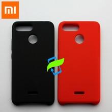Xiao mi kırmızı mi 6 sıvı silikon koruyucu kılıf için xiaomi mi kırmızı mi 5 A 6 mi mi x 2 S 8 9 se A3 arka kapak silikon kılıf