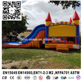 Inflatable Bouncer Castle With Slide Colourful Inflatable Jumping Castle Kids Inflatable Bouncer for Sale