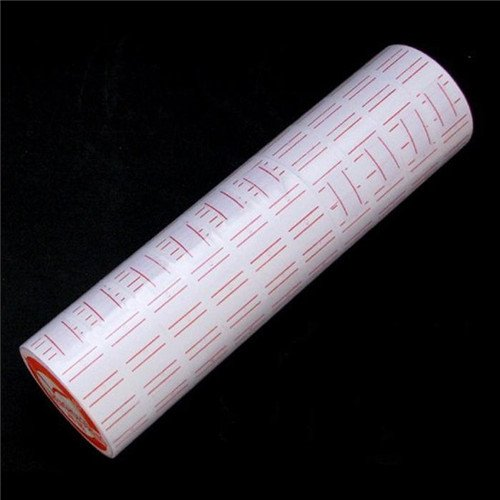 SOSW-New 10 Rolls Label Paper For MX-5500 Price Gun Labeller