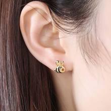 Cute Sterling 925 Silver Stud Earrings