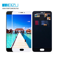 LCD For Meizu MX6 Pro Display With Touch Screen Digitizer Glass Sensor Assembly 100 New Black