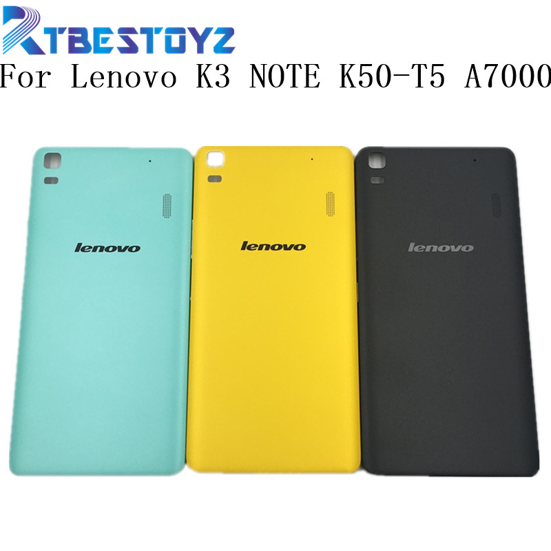 New Battery Door Back Cover Housing Case For <font><b>Lenovo</b></font> K3 NOTE K50-T5 <font><b>A7000</b></font> With Power <font><b>Volume</b></font> <font><b>Buttons</b></font> image