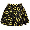 16 Color New 2015 summer skirts womens pleated skirts BATMEN The Flash Printed Skirt Saia