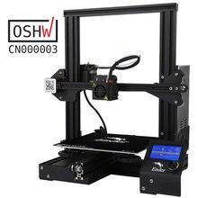 Лидер продаж CREALITY 3D Ender-3 большой принт Размеры 220*220*250 мм Prusa 3D-принтеры DIY Kit с подогревом резюме мощность Off Функция