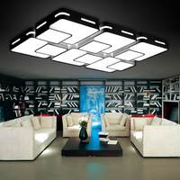 Eusolis 110/220v Ceiling Lights Living Room Lights Plafon Led Luminarias De Teto Living Room Home Lamp Wohnzimmerlampe 16