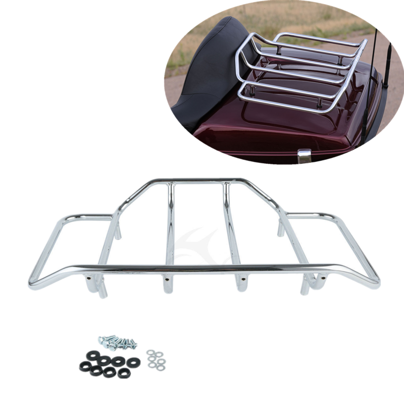 Tour Pack Luggage Rack For Harley Touring Road King Street Glide Classic Special Street Road Glide Ultra Classic custom FLH FLHX